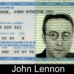 I passaporti segreti dei personaggi famosi che non hai mai visto prima
