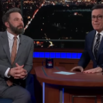L'intervista di Ben Affleck andata in onda al The Late Show (VIDEO)