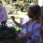 Britney Spears ha venduto questo suo dipinto per $10,000