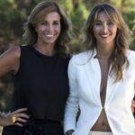 Crisitina e Benedetta Parodi da giovani, la foto sui social