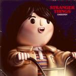 """Artista trasfroma i personaggi di """"Stranger Things"""" in divertenti giocattoli (FOTO)"""