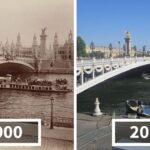 7 incredibili foto mostrano come è cambiata Parigi negli ultimi 100 anni