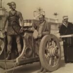 Foto rarissime dal backstage di Ben-Hur, il film muto più costoso della storia