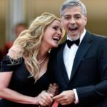 Julia Roberts farà una grande sorpresa all'amico George Clooney