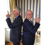 Ancelotti allenatore del Napoli, il video di presentazione su instagram