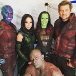 Gli Avengers con le loro controfigure (FOTO)