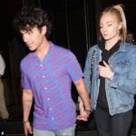 Joe Jonas e Sophie Turner paparazzati insieme al ristorante (FOTO)