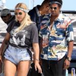Beyoncé e Jay Z su uno yacht a Nizza, in Francia (FOTO)