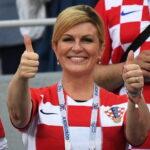 La presidente croata entra nel cuore di tutti con il suo fair play (FOTO)
