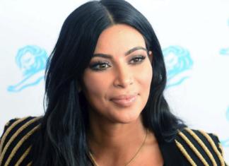 Kim Kardashian viso