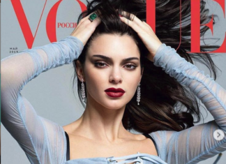 kendal jenner vogue russia foto