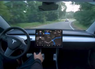 tesla autopilota test