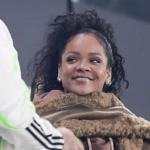 Rihanna tifa Juve, eccola allo stadio tifare bianconeri (FOTO)