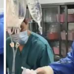 I chirurghi mostrano i polmoni umani dopo 30 anni di fumo, ed è scioccante