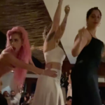 Lady Gaga fa da damigella d'onore al matrimonio dei suoi migliori amici