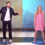 Capitan America buffissimo balla con Elizabeth Olsen (VIDEO)