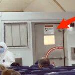 Corona virus, le foto dall'interno dell'aereo con i malati americani