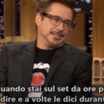 Le frasi più divertenti di Robert Downey JR. in tv (VIDEO)