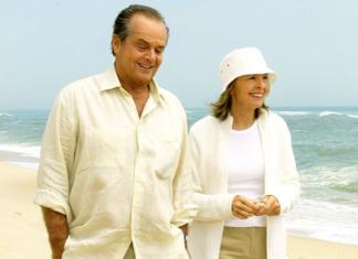 Diane Keaton e Jack Nicholson