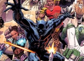 fumetto black panther