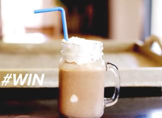 rappè con caffè, vaniglia e nutella