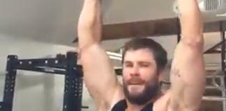 Chris Hemsworth strafigo