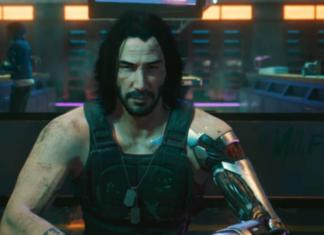 Cyberpunk 2077 di Keanu Reeves