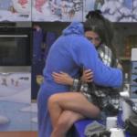 GF vip: abbracci e coccole tra Giulia e Pierpaolo