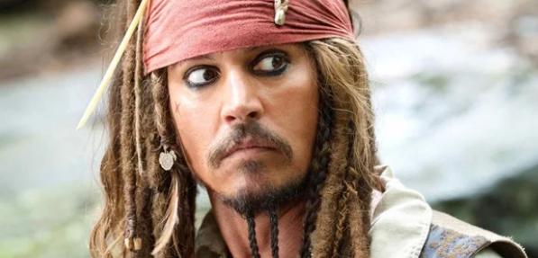 'attore Johnny Depp