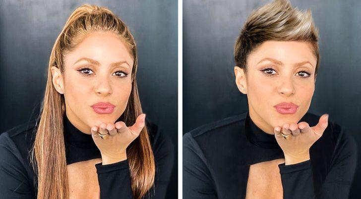 Che aspetto avrebbero 12 celebrità se si tagliassero i capelli