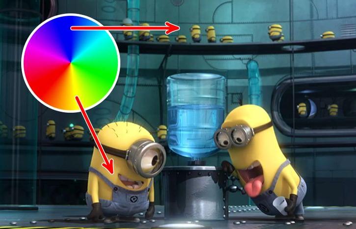 Perché così tanti personaggi dei cartoni animati sono gialli