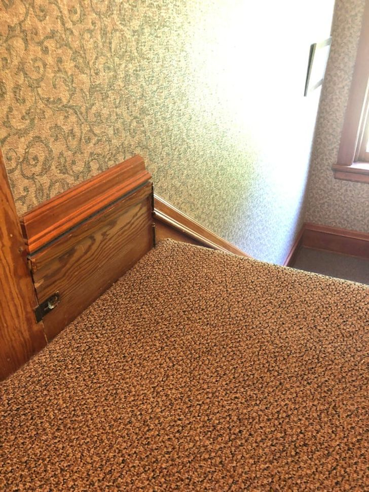 18 volte le persone hanno trovato una stanza segreta nella propria casa