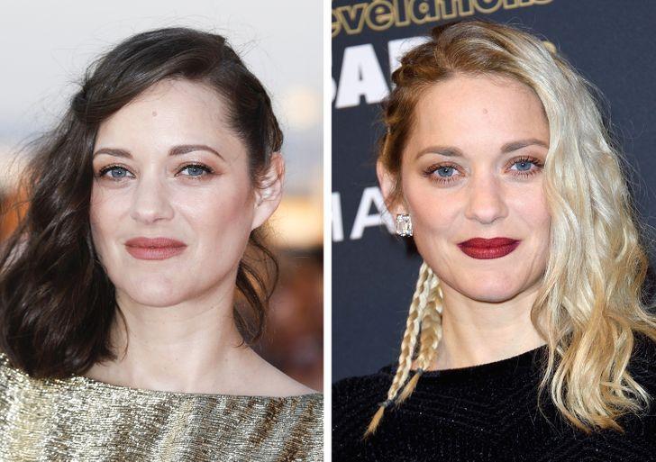 16 volte le celebrità sono passate dai capelli scuri al biondo platino e ci hanno abbagliato con la loro bellezza