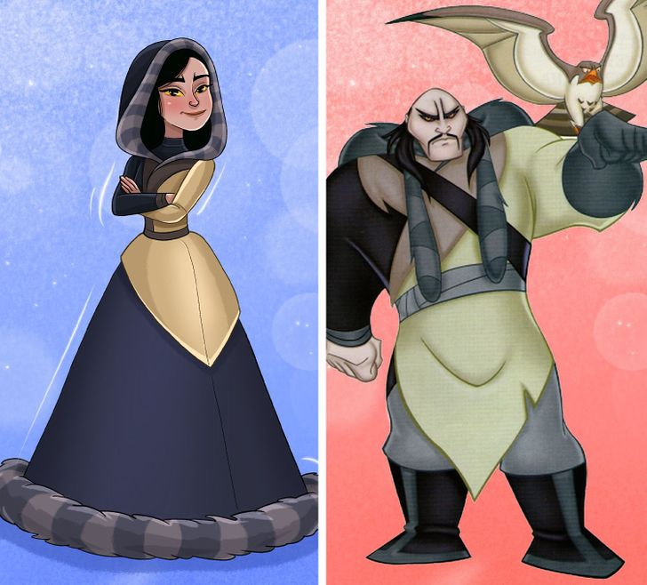 What 13 Male Disney Villains Would Look Like If They Were the Opposite Gender