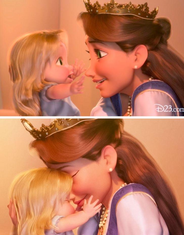 Perché i personaggi Disney raramente hanno la madre