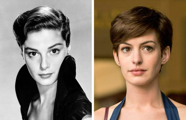 15 Celebrities With Their Doppelgängers From the Past