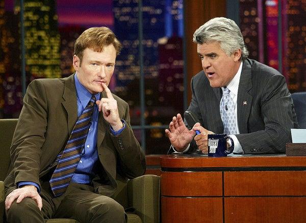 Conan O'Brien e Jay Leno