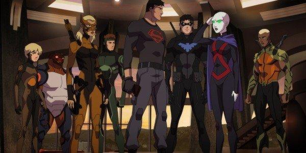 Il cast di Young Justice