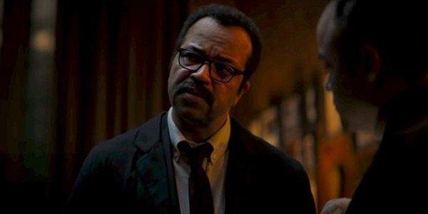Jeffrey Wright nel ruolo di Jim Gordon in The Batman
