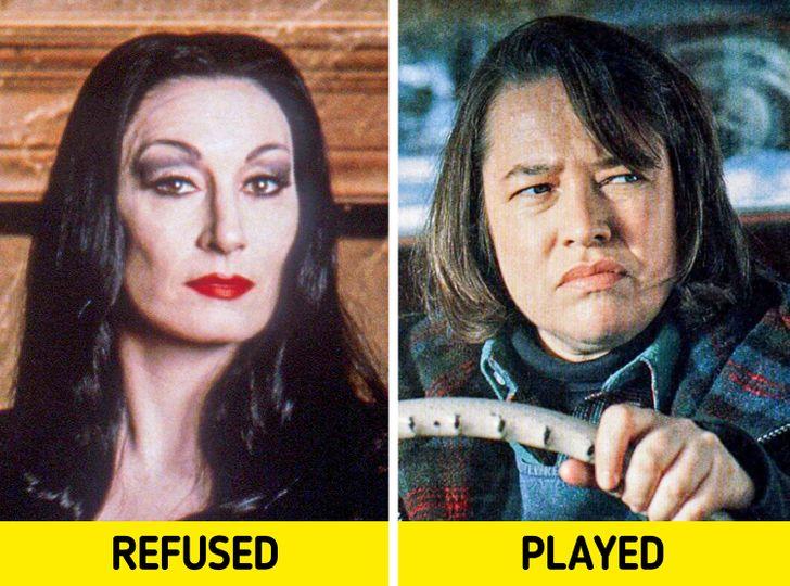 12 celebrità a cui è stato offerto un ruolo vincente ma l'hanno rifiutato