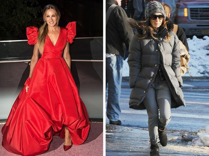 16 celebrità che brillano sul tappeto rosso ma si vestono come persone normali del vicinato nella loro vita quotidiana