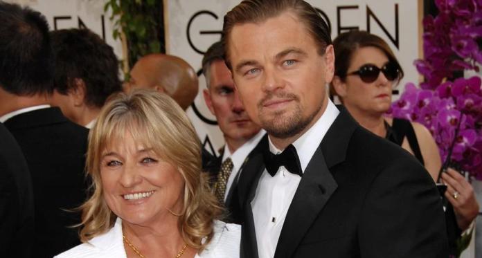 mamma di Leonardo DiCaprio